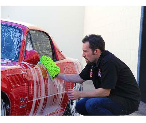 Schaumkanone auto waschen