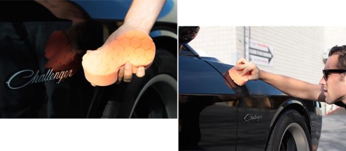 Hex Logic Handpad orange 1