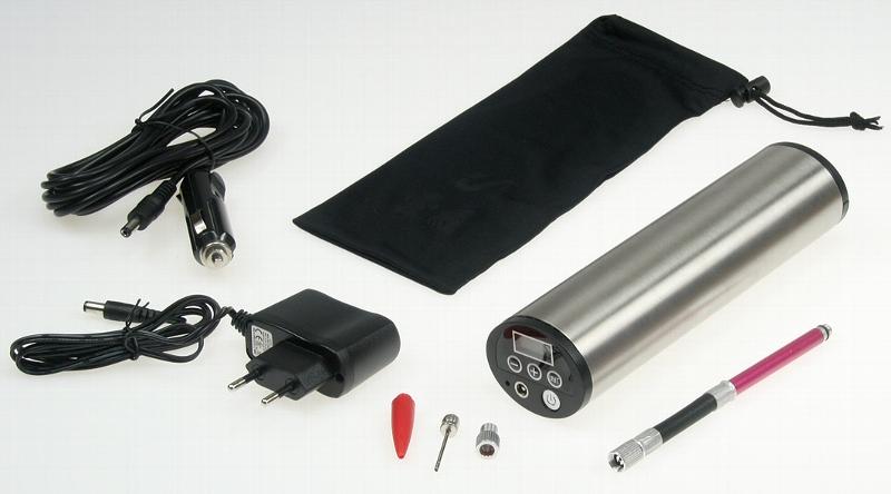 hochleistungs luftpumpe mit liion akku display druckeinstellung kfz adapter glanzst ck shop. Black Bedroom Furniture Sets. Home Design Ideas